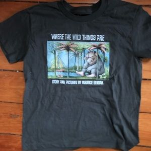 Where the wild things are tee size 10